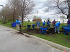 FirstMerit Bank Volunteers Cleanup Chicago Beaches