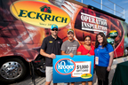Eckrich and Aric Almirola Surprises Military Family at Kentucky Speedway (PRNewsFoto/Eckrich)