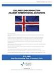 Iceland Watch lancerer reklamekampagne, som tager stærk afstand fra Islands diskriminering mod udenlandske investorer