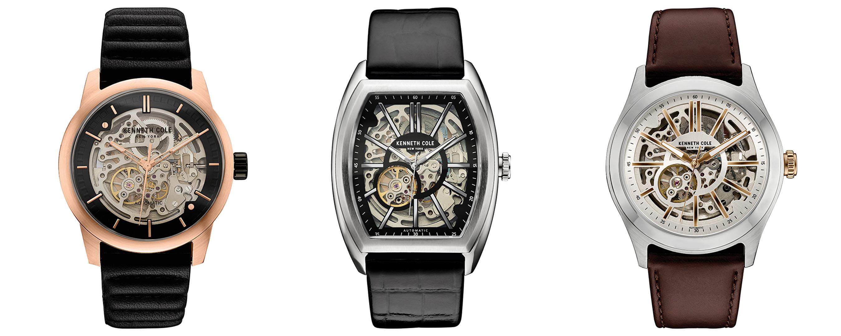 0eb5dc9146d Kenneth Cole apresenta os relógios automáticos das suas coleções para  outono inverno 2016