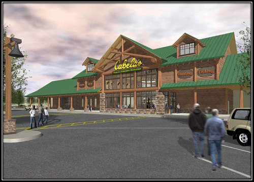 Cabela's new Tulalip store is located within Quil Ceda Village along Interstate 5 at exit 202, about 30 miles north of Seattle.  (PRNewsFoto/Cabela's Incorporated)