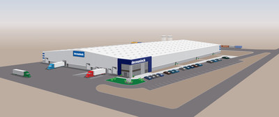 Deceuninck North America's new western facility in Fernley, Nevada near Reno