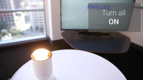 Philips Hue, personal wireless lighting at your fingertips. (PRNewsFoto/Royal Philips)
