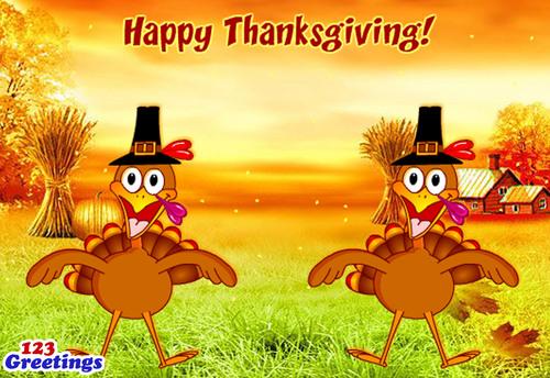 Happy Thanksgiving!  (PRNewsFoto/123Greetings.com)