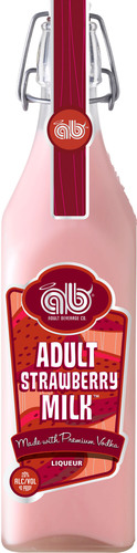 Adult Strawberry Milk.  (PRNewsFoto/Deutsch Family Wine & Spirits)