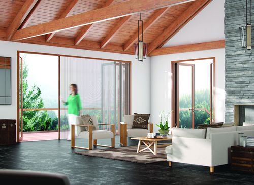 Puts you in complete control of your living environment so you can adjust privacy, airflow and protection from insects and sunlight with fingertip ease (PRNewsFoto/Centor)