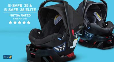 NHTSA Awards Five-Star Rating to Britax B-Safe 35 & B-Safe 35 Elite Infant Car Seats
