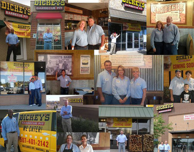 Dickey's Barbecue has sold 138 new franchises to date in 2012 and is on course to open 100 new stores this year with franchise sales up 21%.  (PRNewsFoto/Dickey's Barbecue)