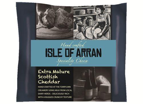 Arran Creamery wins world's best cheddar award (PRNewsFoto/Isle of Arran Creamery)