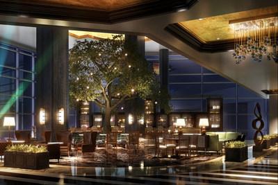 Fairmont Austin Park Lobby Lounge