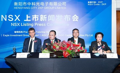 ZKP Group Listed on National Stock Exchange of Australia Today.