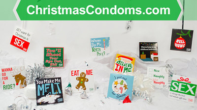 all twelve of our funny christmas condoms visit httpwwwchristmascondoms - Christmas Condoms