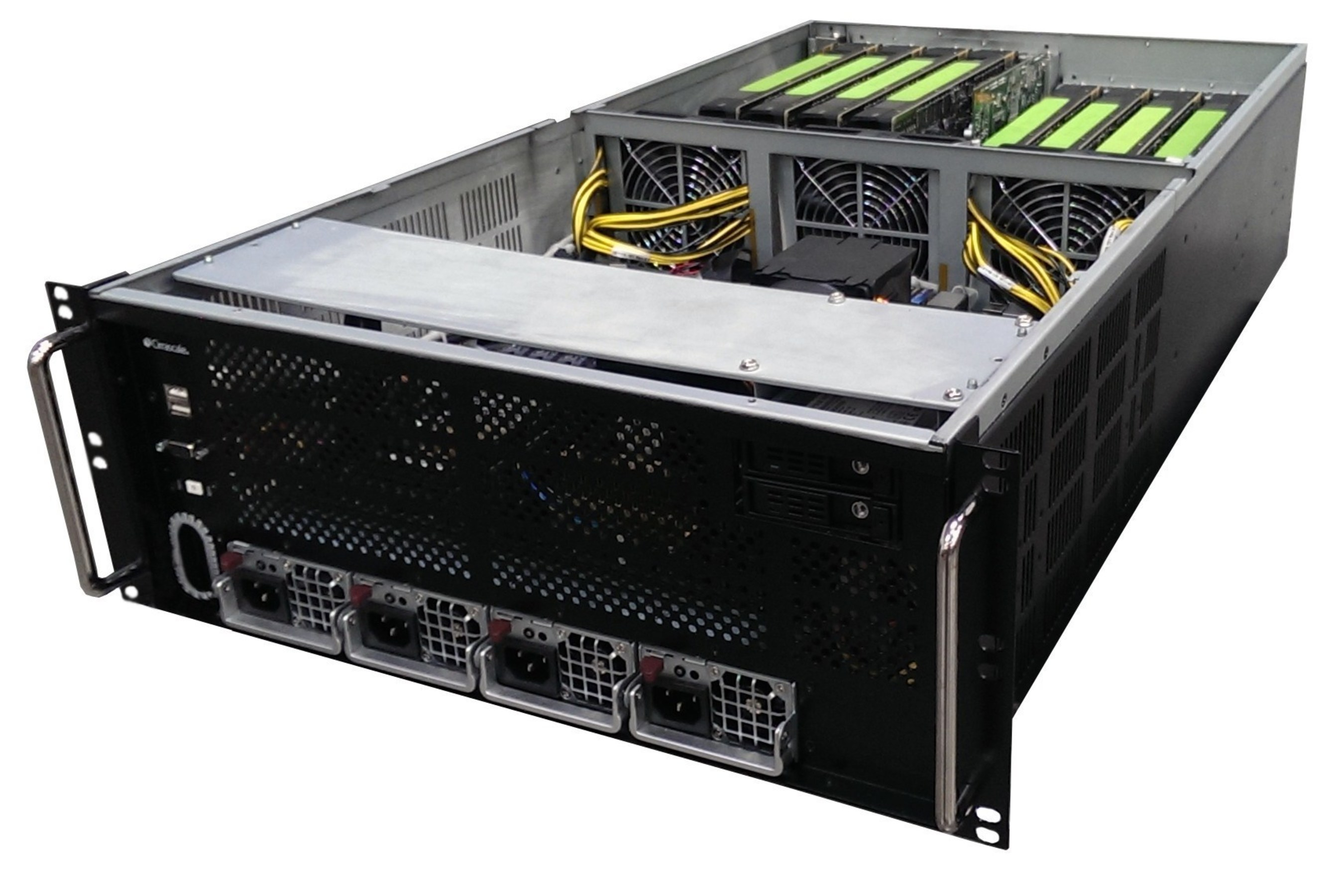 Cirrascale Confirms Facebook 'Big Sur' AI Hardware for Open Compute Appears to Mirror Its Rackmount