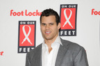 NBA Star Kris Humphries was one of the many sports icons to join Foot Locker Foundation, Inc. in celebrating the 10-Year Anniversary of its On Our Feet scholarship and fundraising gala benefitting UNCF.  (PRNewsFoto/Foot Locker Foundation, Inc.)