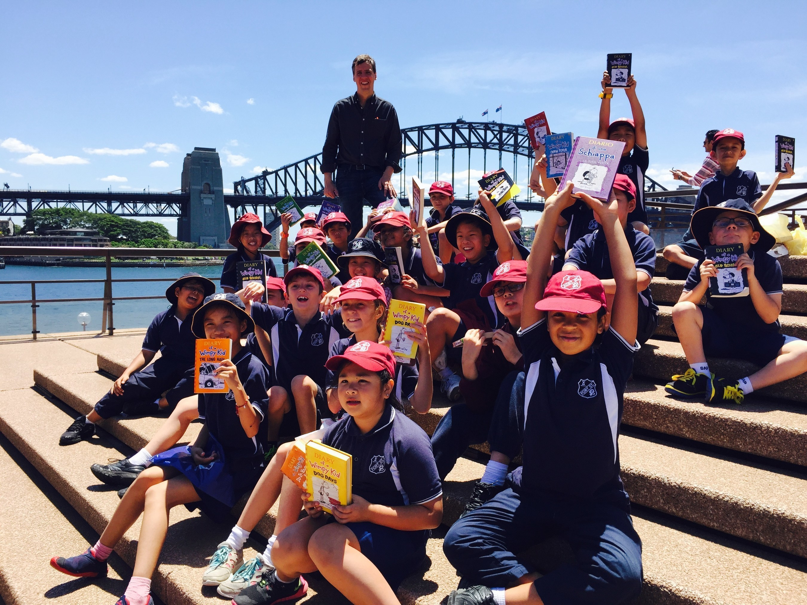 #1 Bestselling Diary of a Wimpy Kid Author Jeff Kinney Brings Laughter and Literacy Around the World--Japan, China, and Australia Host Sold-Out Events for Thousands on In