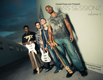 "Gerald Forrest's GospelChops.com Releases ""Bass Sessionz Vol. 2"""