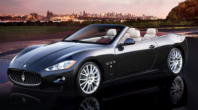 A 2011 Maserati GranTurismo Convertible will be auctioned to benefit the Columbus Citizens Foundation's scholarship funds. For details and tickets, call 866-860-8572. (PRNewsFoto/Columbus Citizens Foundation)