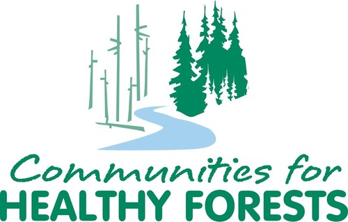 Today, the Communities for Healthy Forests, Inc. (CHF), with support from the Sustainable Forestry Initiative(R), Inc. (SFI(R)), held a ceremony celebrating the restoration of the Douglas Complex fire devastation area. As part of the restoration effort, 50 fifth graders from Fir Grove Elementary and SFI program participants, Plum Creek and Swanson Group, today joined CHF, the Bureau of Land Management, Roseburg Forest Products, Douglas County, the Society of American Foresters and others for a tree planting ceremony.  (PRNewsFoto/Communities for Healthy Fores...)