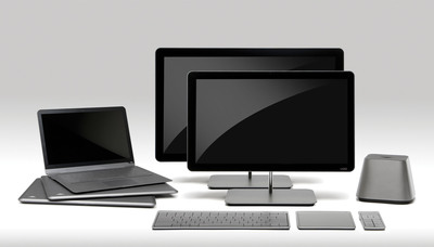 VIZIO Bursts Into the Computing Realm with Five Innovative and Sleek PCs. (PRNewsFoto/VIZIO, Inc.)