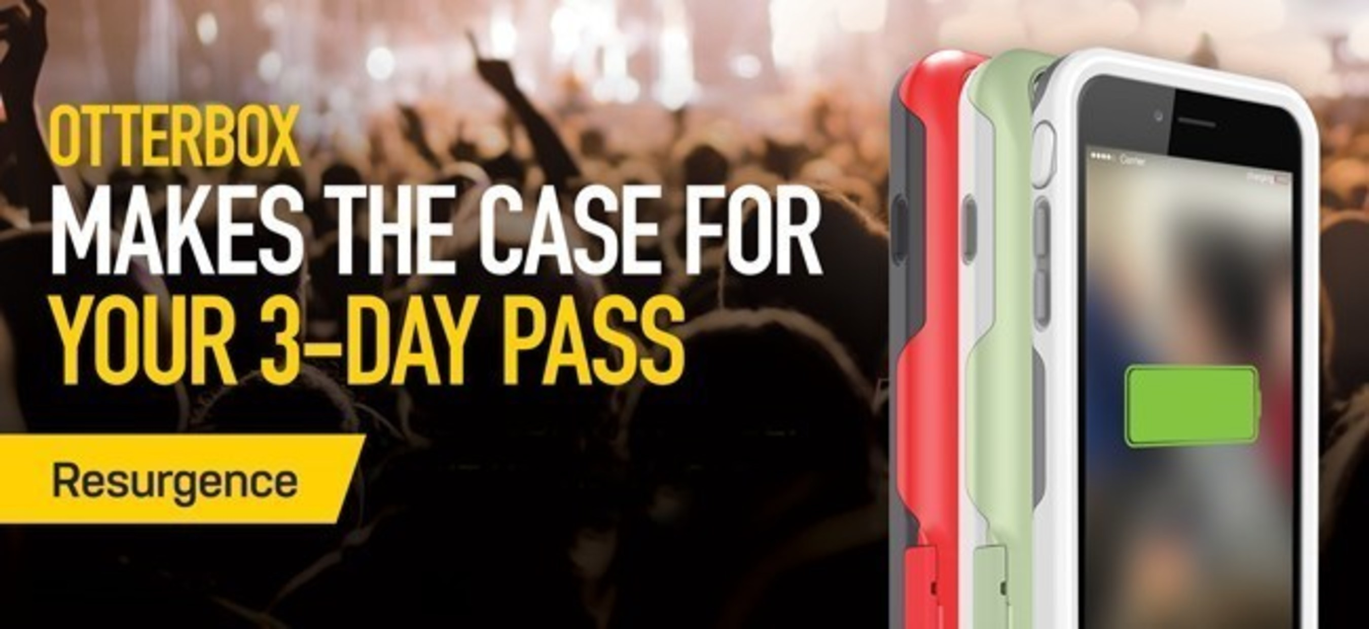 OtterBox makes the case for music festivals with the 2015 OtterTour - a cross-country trek to festivals all over the U.S.