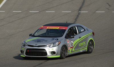 Kia Racing privateer effort expands to three Forte Koups for 2015 Pirelli World Challenge season