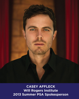 Casey Affleck Will Rogers Institute 2013 Summer PSA Spokesperson.  (PRNewsFoto/Will Rogers Institute)
