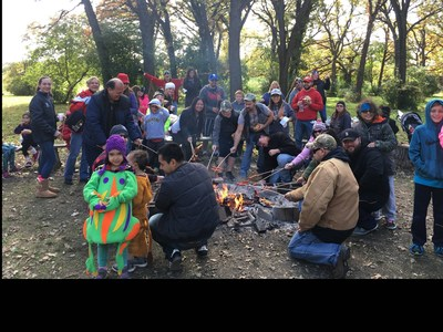 More than 80 injured veterans and family members joined Wounded Warrior Project for a day of fun at Apple Holler farm.