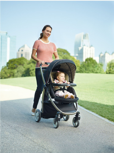 The Graco Modes Click Connect travel system is three strollers in one -- offering the versatility and value of ...