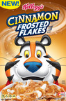 Highly Anticipated Cereal Hits Shelves -- Kellogg's® Unveils New Cinnamon Frosted Flakes