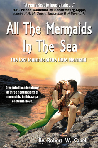 Seattle has a new little mermaid...and her grandmother is from Denmark. Share the adventures of three generations of mermaids and how they change the fate of the world.  (PRNewsFoto/Gazebo Books Publishing)
