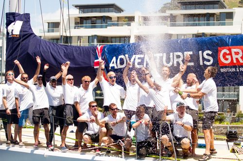 GREAT Britain team win latest stage of world's longest ocean race into Cape Town (PRNewsFoto/Clipper ...