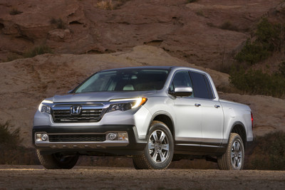 The 2017 Honda Ridgeline made its debut on January 11 at the 2016 North American Auto Show in Detroit.