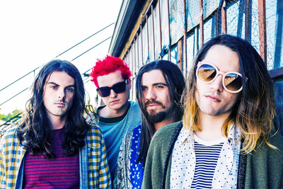 THE EERIES ANNOUNCE FALL TOUR WITH GERARD WAY (PRNewsFoto/Interscope Records)