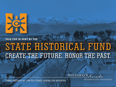 History Colorado is pleased to announce the addition of a second State Historical Fund (SHF) grant cycle for fall 2013. The Joint Budget Committee recommended allocating $5 million in General Fund dollars toward the final payment for the restoration of the State Capitol dome, which the General Assembly approved as part of the Long Bill. SHF was created by the 1990 constitutional amendment allowing limited gaming in Cripple Creek, Central City and Black Hawk. The amendment directs that a portion of gaming tax revenues be used for historic preservation throughout the state. Funds are distributed through a competitive process.  (PRNewsFoto/History Colorado)