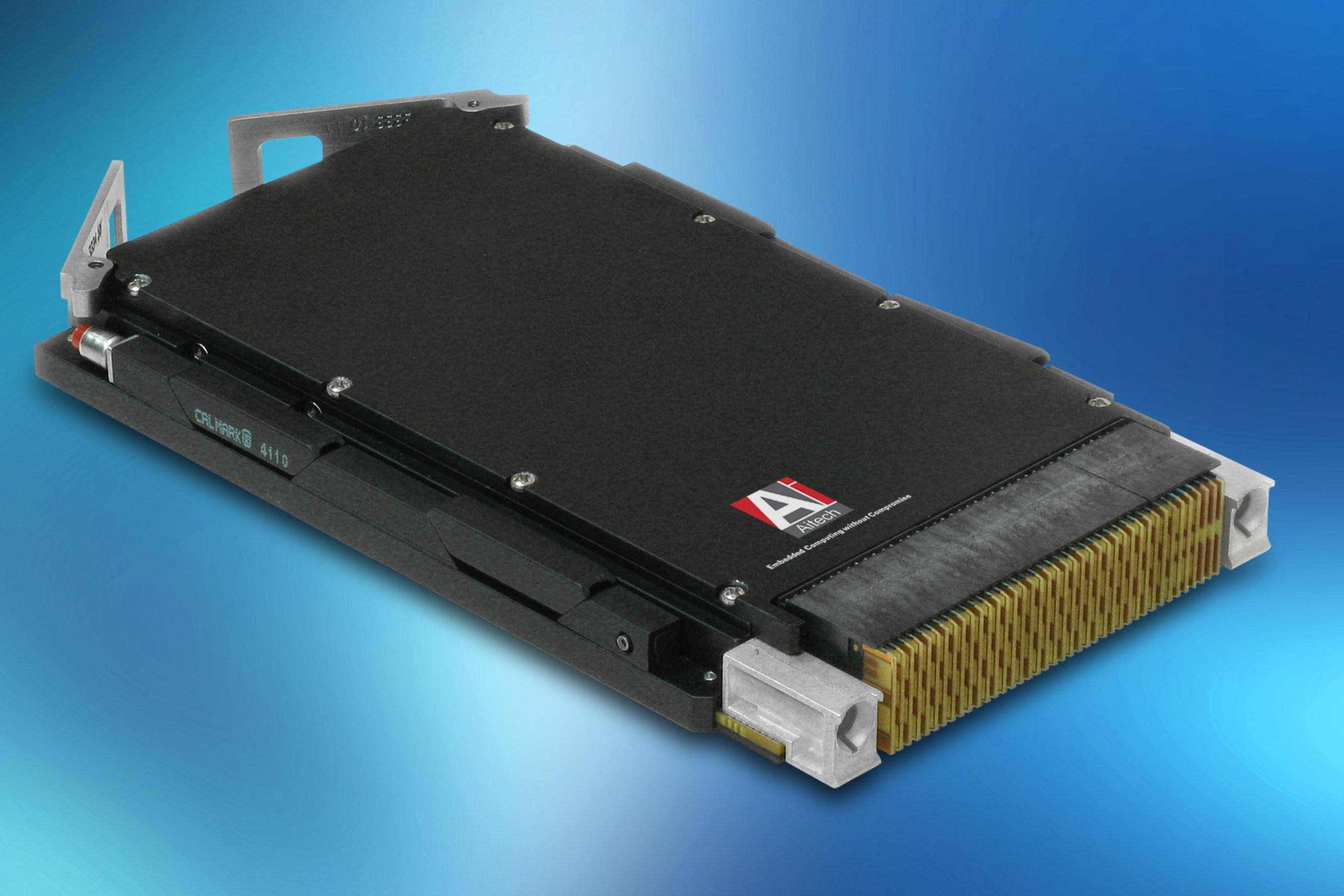 Latest QorIQ-based 3U VPX SBC from Aitech Defense Easily Handles High Bandwidth Data Processing Requirements