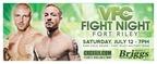 Briggs Auto is proud to be presenting VFC Fight Night Fort Riley on Saturday, July 12. (PRNewsFoto/Briggs Auto)