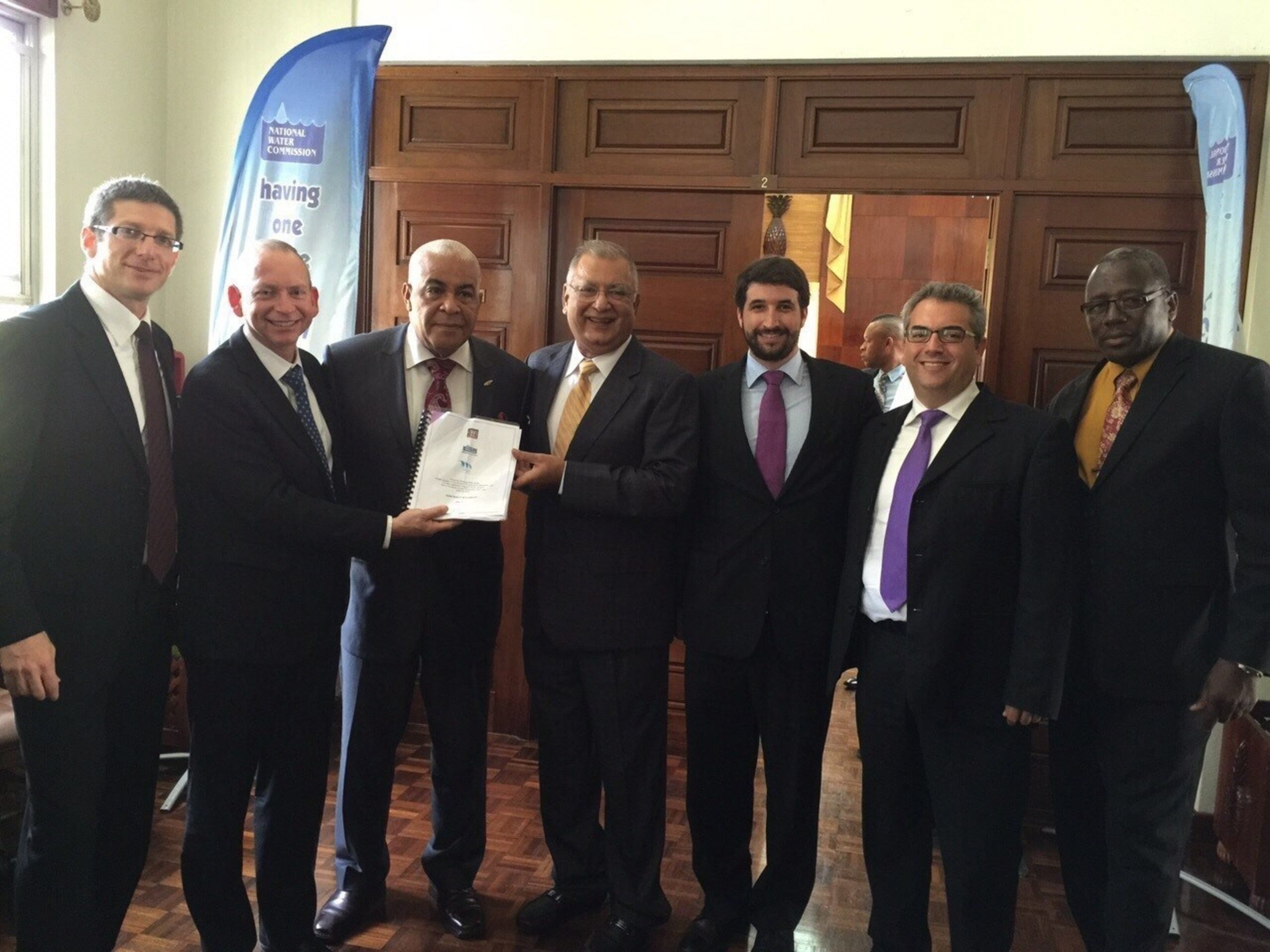 Miya signs a water efficiency project estimated at $42.5M in Jamaica