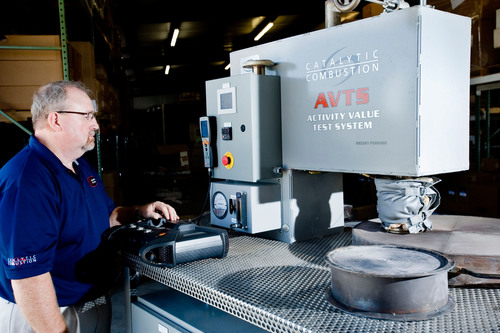 Catalytic Combustion Corp. announces catalyst testing breakthrough