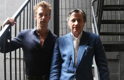 Benjamin Schafir (LEFT) AND Jerome Faillant-Dumas (RIGHT)