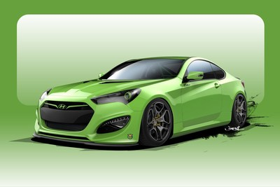 Tjin Edition Rounds Out Hyundai's SEMA Lineup With Extreme Genesis Coupe