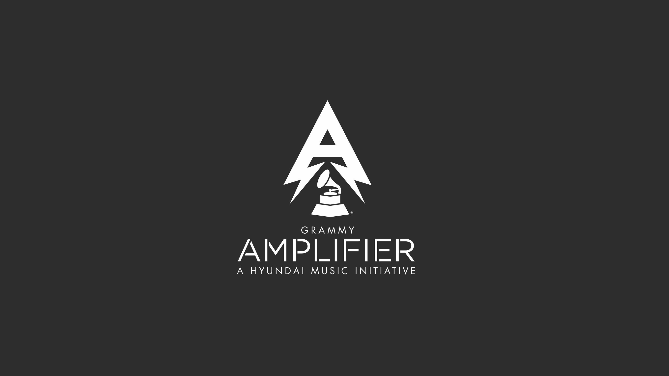 Grammy Award / Hyundai Amplifier Program Logo