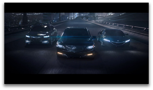 "Acura To Debut New ""Let The Race Begin"" Commercial This Weekend During Prime-Time Television.  (PRNewsFoto/Acura)"