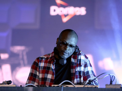 DJ Jazzy Jeff closes the last of three nights of interactive shows at the Doritos #MixArcade at E3 on Thursday, June 16, 2016 in Los Angeles. (Photo by Matt Sayles/Invision for Doritos/AP Images)