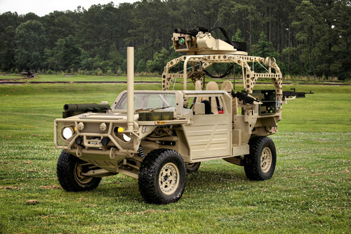 General Dynamics Land Systems proposed vehicle for USSOCOM Ground Mobility Vehicle program. Designed for ...