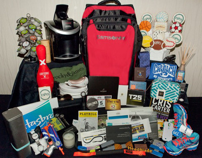 The 2013 ESPYS presented by Capital One reveal some of the most coveted items right now-all included in The 2013 ESPYS Gift Bag. It's the most anticipated goodie bag in sports created to celebrate and honor the past year in sports at The 2013 ESPYS (Wednesday, July 17, at 9:00 p.m. EDT on ESPN and ESPN HD).  Presenters and nominees will be gifted with exclusive luxury items created especially with them in mind.  (PRNewsFoto/ESPN)