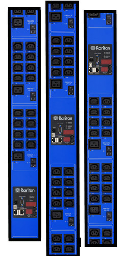 Real-time power, energy and cooling information -- gathered by Raritan PX2 iPDUs from equipment and the ...