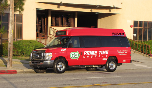 Prime Time Shuttle to Save 1.5 Million Gallons of Gasoline by Making the Switch to the ROUSH Liquid
