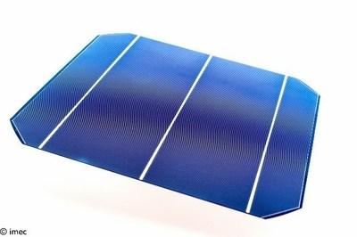 Imec's solar cell