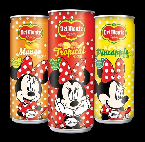 Del MonteÂ(R) launches new Minnie Mouse and Spider-man branded kids nectars in the Middle East and North Africa markets starting November 20th, 2014 (PRNewsFoto/Del Monte)