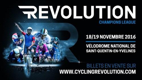 Next Event in the National Velodrome : Revolution Champions League (PRNewsFoto/Face Ltd)